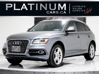 Used 2014 Audi Q5 2.0T quattro Progressiv, NAV, PANO, Heated Leather for sale in Toronto, ON