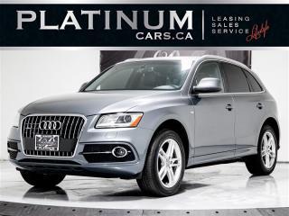 Used 2014 Audi Q5 2.0T quattro Progressiv, NAV, PANO, Heated Leather for sale in Toronto, ON
