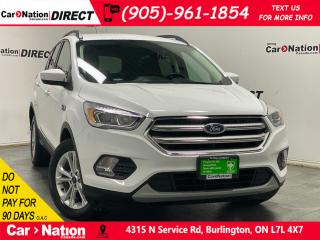 Used 2019 Ford Escape SEL| 4X4| LEATHER| BACK UP CAM & SENSORS| for sale in Burlington, ON