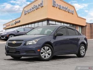 Used 2013 Chevrolet Cruze LS - Onstar -  Power Windows - $86 B/W - $86 B/W -  - $86 B/W for sale in Brantford, ON