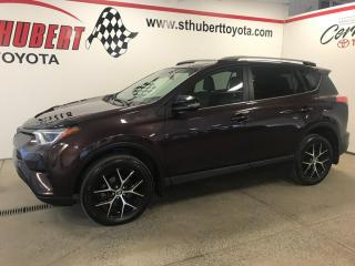 Used 2017 Toyota RAV4 AWD 4dr SE, NAVIGATION, TOIT OUVRANT for sale in St-Hubert, QC