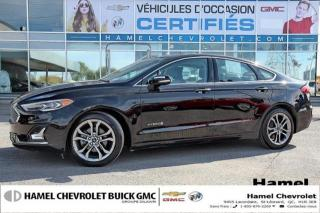 Used 2019 Ford Fusion Titanium for sale in St-Léonard, QC