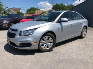 Used 2015 Chevrolet Cruze 1LT | Auto | Bluetooth | Cruise Control| for sale in St Catharines, ON