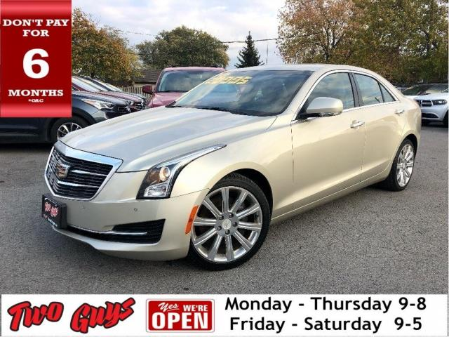 2015 Cadillac ATS 2.0L Turbo Lux | AWD | Nav | Leather | Sunroof |