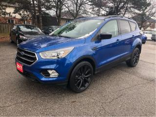 Used 2017 Ford Escape SE| Back up cam| Navi| Panoramic roof| Loaded! for sale in Stoney Creek, ON