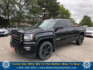Used 2016 GMC Sierra 1500 4wd| Back up cam| Loaded for sale in Stoney Creek, ON
