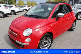 Used 2012 Fiat 500 2dr Conv Lounge for sale in Laval, QC