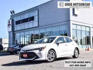 Used 2019 Toyota Corolla Hatchback CVT for sale in Mississauga, ON
