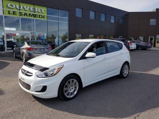 Used 2015 Hyundai Accent 5p Man L, A/C, USB, MAGS, 64163 KM for sale in Chambly, QC