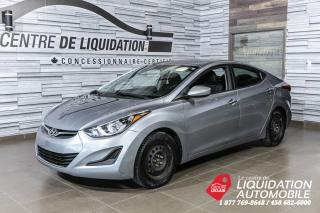 Used 2015 Hyundai Elantra GL for sale in Laval, QC