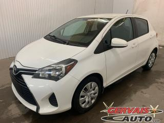 Used 2015 Toyota Yaris Le Bluetooth A/c for sale in Trois-Rivières, QC