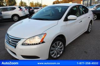 Used 2014 Nissan Sentra S **WOW** FINANCEMENT FACILE !! for sale in Laval, QC