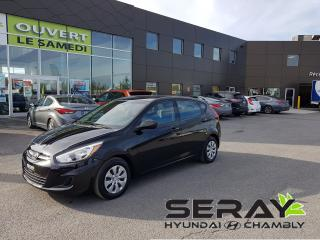 Used 2017 Hyundai Accent 5dr GL, A/C, BLUETOOTH, GROUPE ÉLECTRIQUE for sale in Chambly, QC