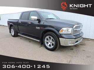 Used 2016 RAM 1500 Laramie Crew Cab 4x4 | Sunroof | Navigation | Remote Start | Heated Front/Back Seats/Steering Wheel for sale in Weyburn, SK