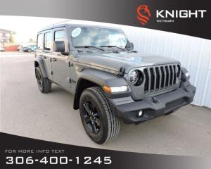 New 2020 Jeep Wrangler Unlimited Sport Altitude 4x4 | Heated Front Seats & Steering Wheel | Remote Start | Back-up Camera | Hardtop for sale in Weyburn, SK