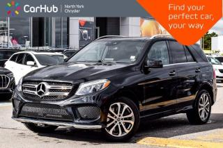 Used 2019 Mercedes-Benz GLE 400 4MATIC Panoramic Roof Backup & 360 Cameras for sale in Thornhill, ON