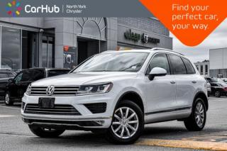 Used 2016 Volkswagen Touareg Sportline|Backup_Cam|Navigation|Heated_Front_Seats| for sale in Thornhill, ON