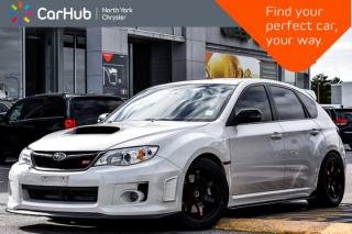 Used 2013 Subaru Impreza WRX STI|STI Aerodynamic pkg|Sunroof|Navigation|AWD| for sale in Thornhill, ON