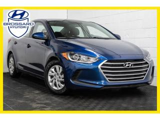 Used 2017 Hyundai Elantra LE, BLUETOOTH, GROUPES ÉLECTRIQUES for sale in Brossard, QC