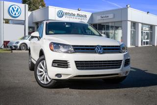Used 2012 Volkswagen Touareg 3.0 TDI Comfortline <b>*NAVIGATION* *VEGAN LEATHER* *DIESEL* *HEATED SEATS* *LIGHT INTERIOR*<b> for sale in Surrey, BC