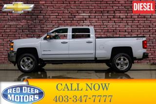Used 2016 Chevrolet Silverado 2500 HD 4x4 Crew Cab LTZ Z71 Diesel Leather Roof BCam for sale in Red Deer, AB