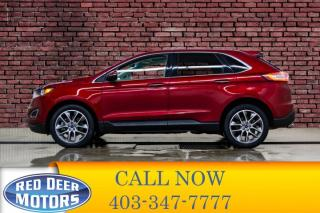 Used 2016 Ford Edge AWD Titanium Leather Roof Nav for sale in Red Deer, AB