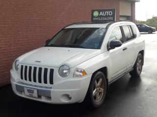 Used 2008 Jeep Compass Limited THIS WHOLESALE SUV WILL BE SOLD AS-TRADED! INQUIRE FOR MORE! for sale in Charlottetown, PE