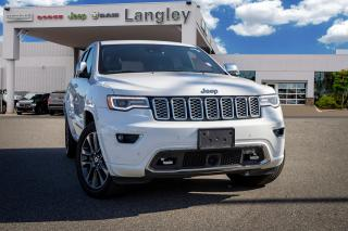 Used 2017 Jeep Grand Cherokee Overland *PANORAMIC SUNROOF* *BACKUP CAMERA* *NAVI* for sale in Surrey, BC