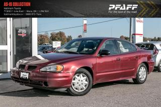Used 2003 Pontiac Grand Am 4Dr Sedan SE1 for sale in Orangeville, ON
