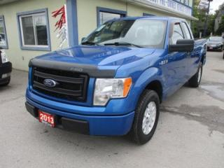 Used 2013 Ford F-150 WORK READY STX EDITION 6 PASSENGER 5.0L - V8.. TWO-WHEEL DRIVE.. EXTENDED-CAB.. SHORTY.. CD/AUX INPUT.. TOW SUPPORT.. for sale in Bradford, ON