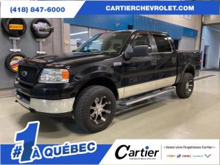 Used 2005 Ford F-150 XLT * 4X4 * DEMARREUR A DISTANCE for sale in Québec, QC