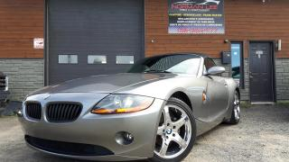 Used 2003 BMW Z4 roadster bas km (((SHOWROOM))) for sale in St-Henri-de-Levis, QC
