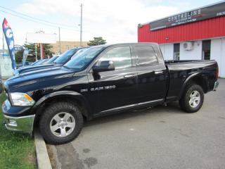 Used 2012 RAM 1500 Outdoorsman $15,595+HST+LIC FEE / CLEAN CAR FAX /CERTIFIED / 1 OWNER for sale in North York, ON