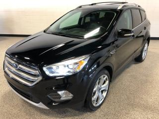 Used 2017 Ford Escape Titanium Park Assist, Leather Interior, Back Up Camera and Navigation for sale in Calgary, AB