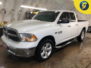Used 2014 RAM 1500 SLT * Quad Cab * Hemi * 4X4 * Heated mirrors * Power windows/mirrors/locks * Tow hitch w/ 6 pin connect * Trailer assist * 17 Inch alloy rims *Lockabl for sale in Cambridge, ON