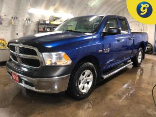 Used 2016 RAM 1500 SXT * Quad Cab * Hemi w/FuelSaver MDS * 4X4 * Step Bars * Power, heated, manual folding exterior mirrors * Folding rear seat * Second row in-floor sto for sale in Cambridge, ON
