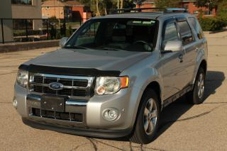 Used 2012 Ford Escape Limited LOW KMs | ONLY 64K | Sunroof | Leather for sale in Waterloo, ON