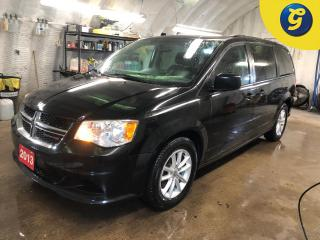 Used 2013 Dodge Grand Caravan SXT Plus * Stow N Go * Second-Row Overhead 9-Inch VGA Video Screen * Second-Row Power Windows * Power Quarter Vented Windows * 3 Zone climate control for sale in Cambridge, ON