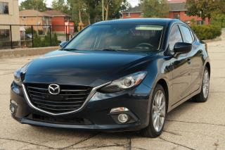 Used 2015 Mazda MAZDA3 GT NAVI | Back-Up Camera | CERTIFIED for sale in Waterloo, ON