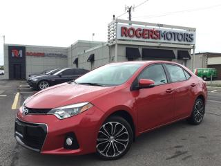 Used 2015 Toyota Corolla S SPORT - NAVI - SUNROOF - LEATHER for sale in Oakville, ON