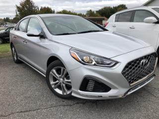 Used 2019 Hyundai Sonata ESSENTIAL Sport Package with Sunroof, Heated Seats, BackupCam, Pwr Seat, Alloys, BlindSpot Detect, Leather Tri for sale in Kemptville, ON