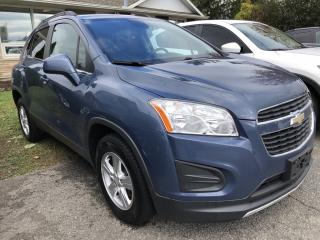 Used 2013 Chevrolet Trax 1LT AWD with Pwr Windows, Cruise, Bluetooth, Alloys and Steering Wheel Controls ! for sale in Kemptville, ON