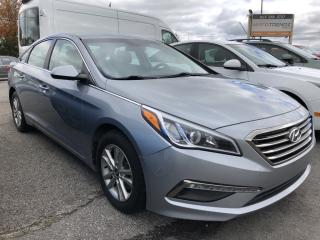 Used 2015 Hyundai Sonata GL Heated Seats, BackupCam, Bluetooth, Pwr Windows, Cruise, Keyless Entry and Alloys! for sale in Kemptville, ON