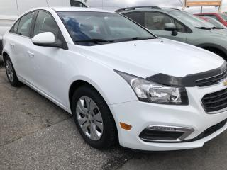 Used 2015 Chevrolet Cruze 1LT BackupCam, Bluetooth, AutoStart, Air, Cruise, Pwr Windows and Keyless Entry! for sale in Kemptville, ON