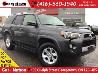 Used 2017 Toyota 4Runner SR5 | 7 PASS | LEATHER | ROOF | 4X4 | V6 | BU CAM for sale in Georgetown, ON