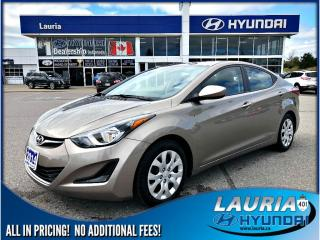 Used 2014 Hyundai Elantra GL Auto - Bluetooth / Heated seats for sale in Port Hope, ON