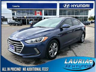 Used 2017 Hyundai Elantra GL AUTO for sale in Port Hope, ON