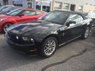 Used 2012 Ford Mustang PREMIUM CONVERTIBLE CUIR AUTO MAG IMPÉCABLE for sale in St-Hubert, QC