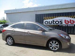 Used 2012 Hyundai Accent Berline 4 portes, boîte automatique, GLS for sale in Laval, QC