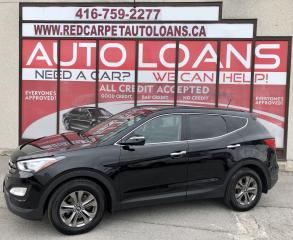 Used 2015 Hyundai Santa Fe Sport 2.4 Luxury LUXURY-ALL CREDIT ACCEPTED for sale in Scarborough, ON